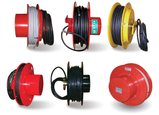 Cable Reels Without Cable : Self retracting cable reels